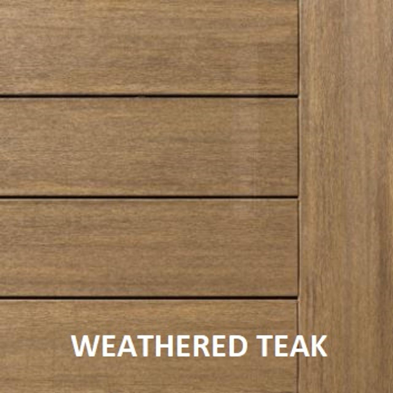 AZEK Vintage Decking Weathered Teak