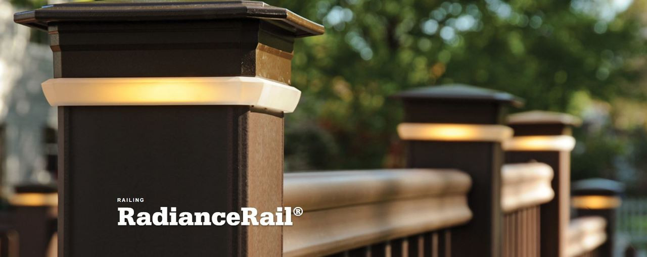 TimberTech Radiance Express Top and Bottom Rail Kit