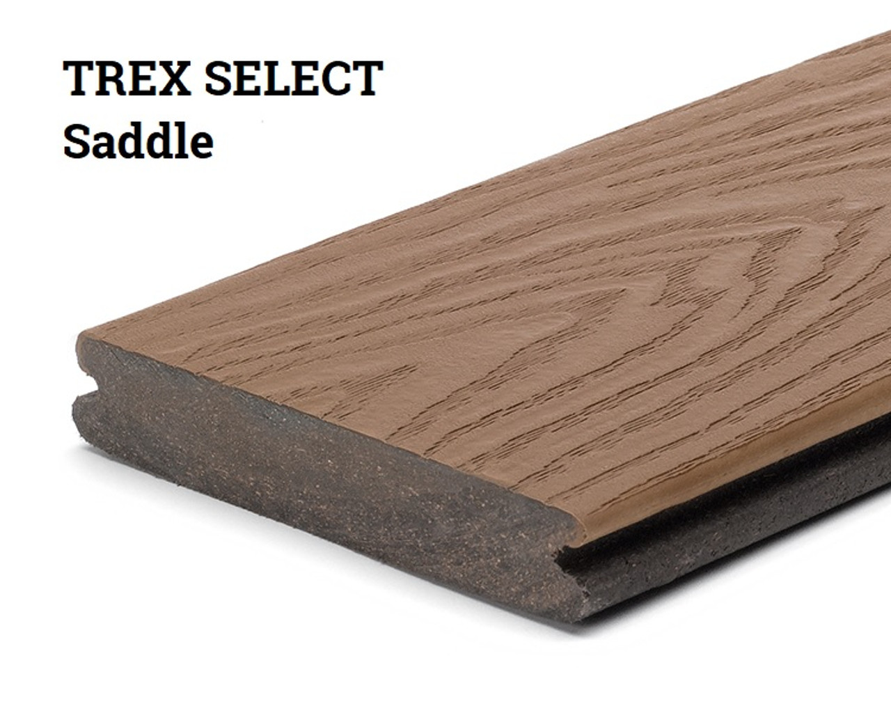 Trex Select Saddle Grooved Edge Decking