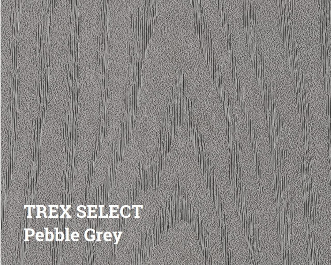 Trex Select Pebble Grey Decking Surface