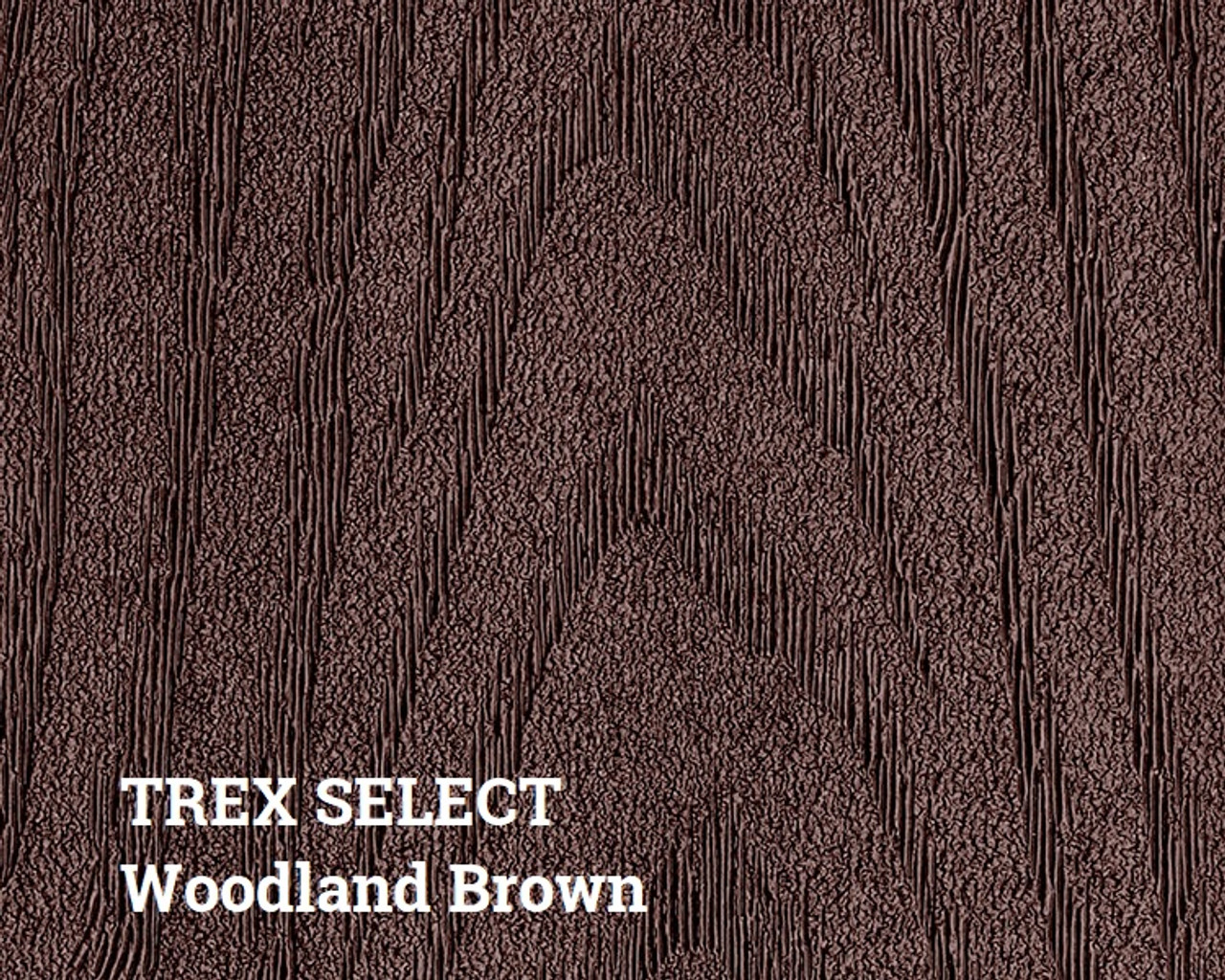 Trex Select Woodland Brown Decking Surface