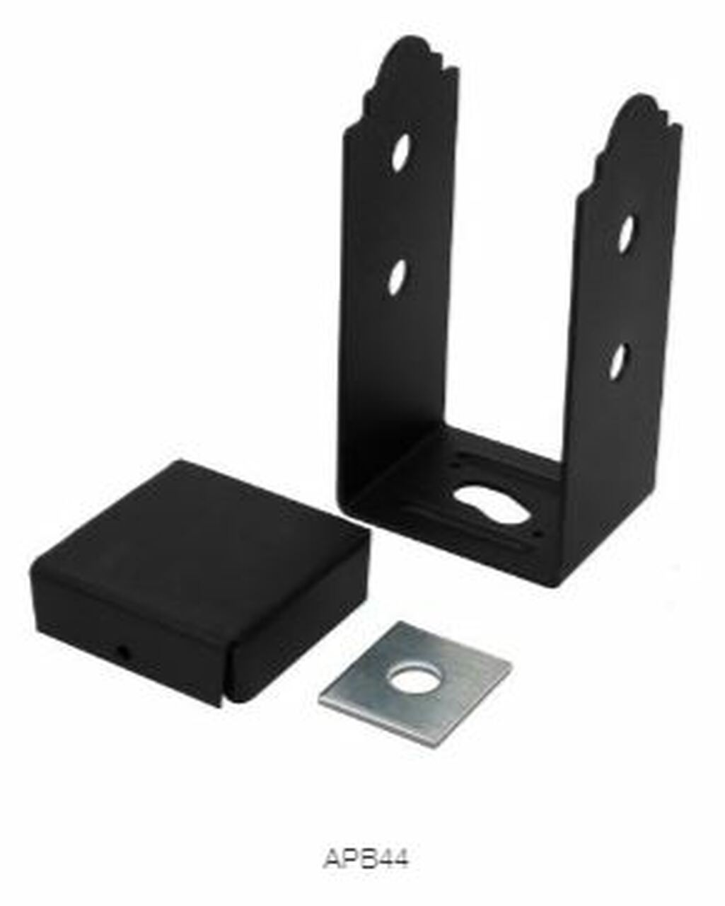 APB 66 SIMPSON Strong-Tie Ornamental Post Base Kit for 4x4""