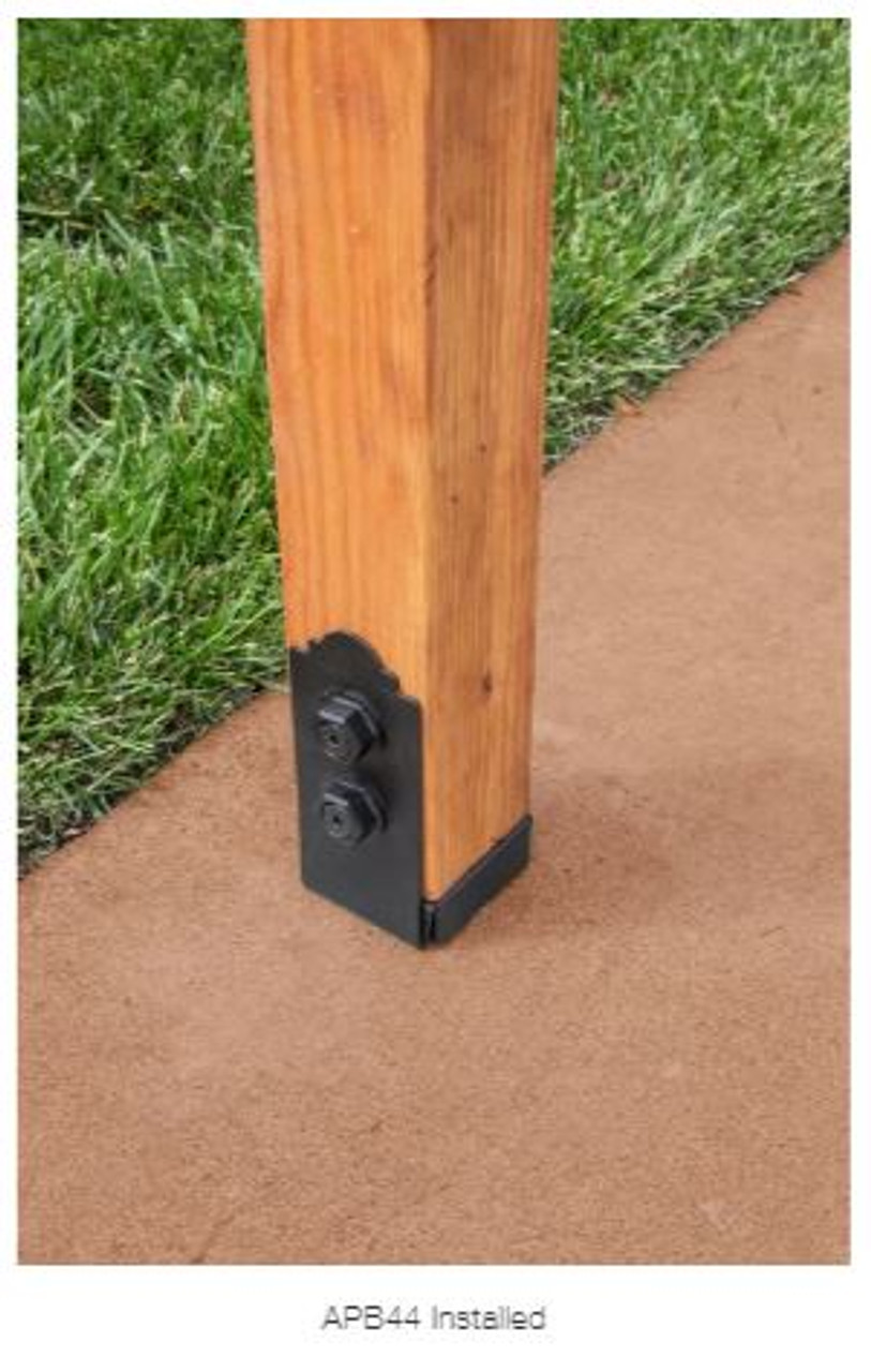 APB 44 SIMPSON Strong-Tie Ornamental Post Base for 4x4""