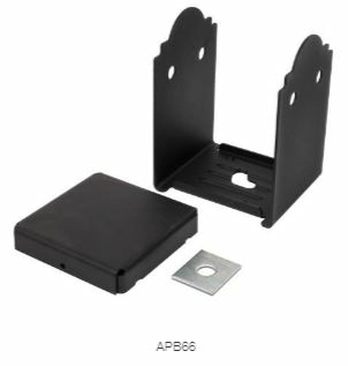 APB 66 SIMPSON Strong-Tie Ornamental Post Base Kit for 6x6""