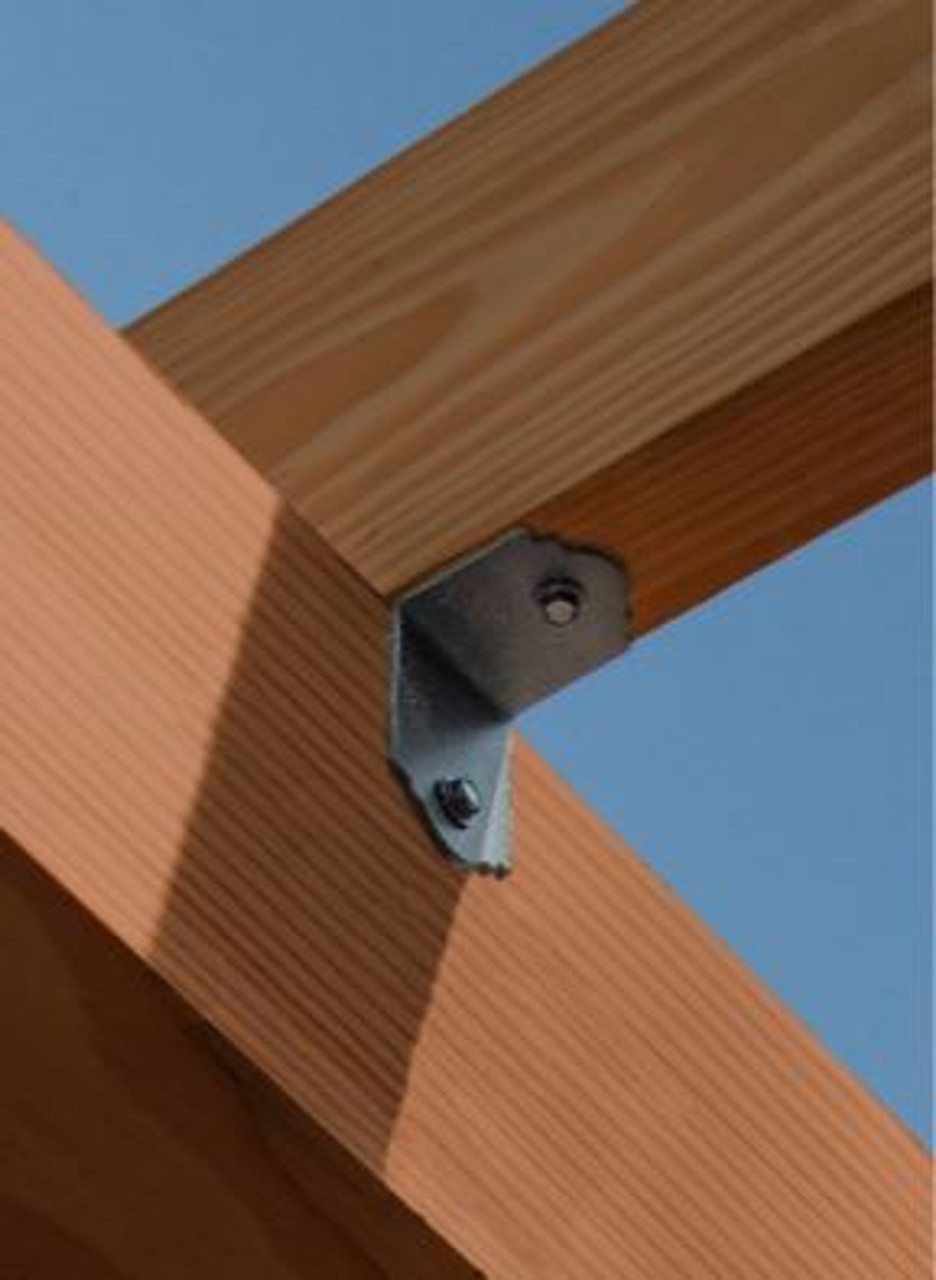SIMPSON Strong-Tie Ornamental Angle Installed