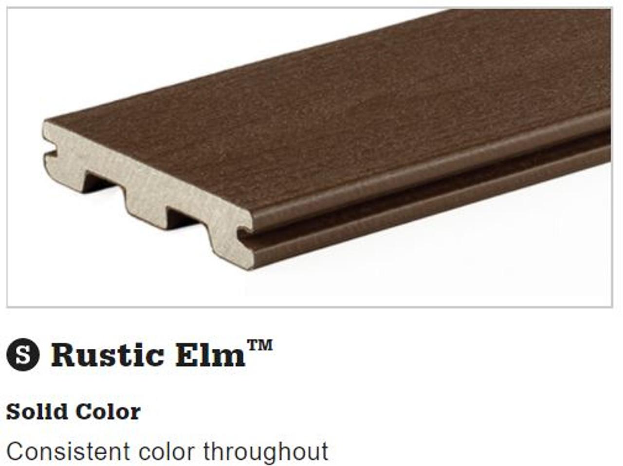 TimberTech Terrain Rustic Elm Grooved Decking
