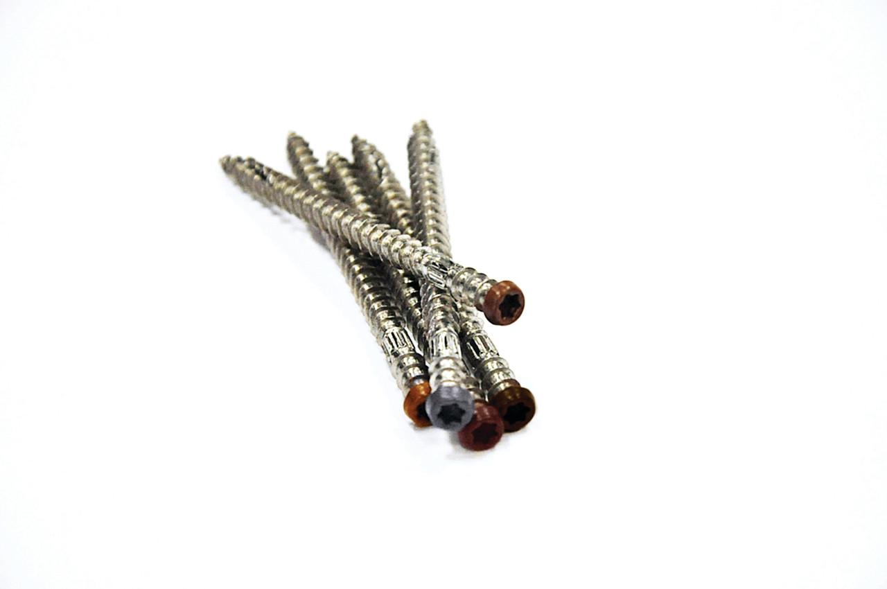 "AZEK TOPLoc 1-5/8"" Stainless Steel Fascia Fasteners (100 pc)"