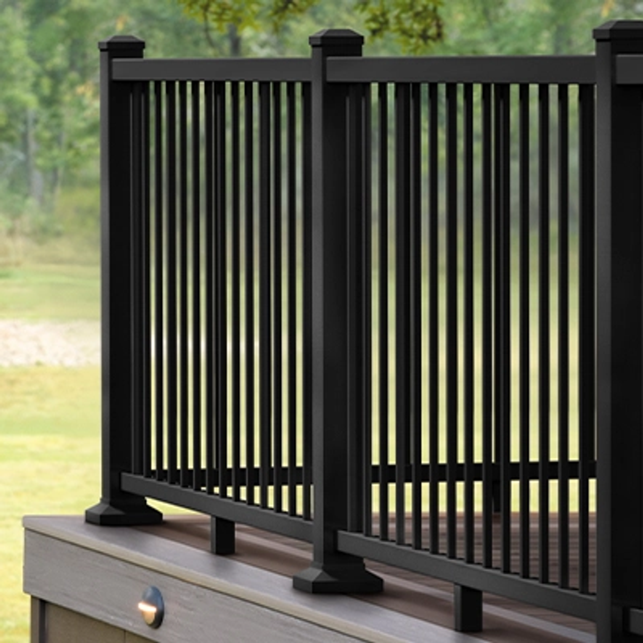 TimberTech Impressions Express with Modern Top Rail