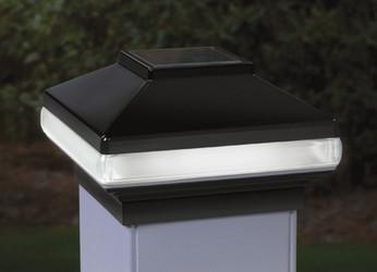 DecKorators 4x4 Versacap Solarband Post Light