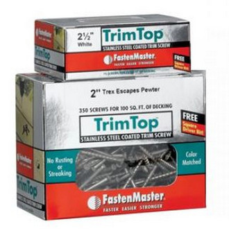 FastenMaster TrimTop Screws