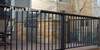 Fortress Fe26 Traditional Railing Panel