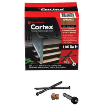 Cortex Hidden Fasteners (100 LF Pack)