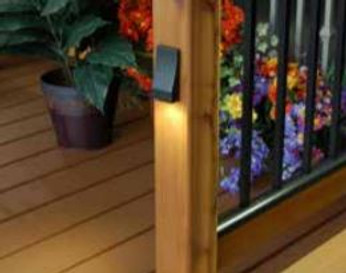 FortressAccents Vertical LED Post Light