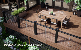 DecKorators Vault Fascia Collection - shown in Mesquite