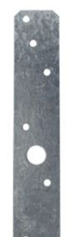 "LSTA24 Simpson Strong-Tie Strap Tie 1-1/4"" x 24"" 20-Gauge"