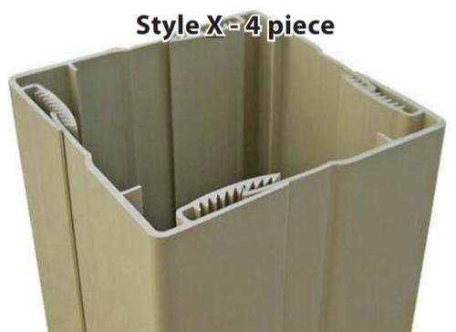 Missouri Vinyl Products Post Wrap Style X