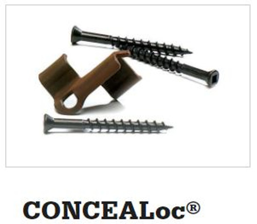 TimberTech CONCEALoc Hidden Fasteners (100 SF)