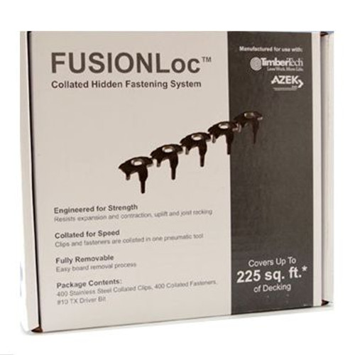 TimberTech FUSIONLoc Hidden Fasteners (225 SF)