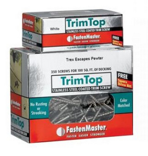 FastenMaster TrimpTop Screws