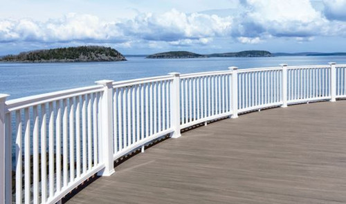 AZEK Vintage Decking in Coastline