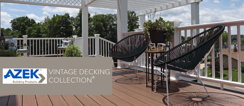 AZEK Vintage Decking Collection