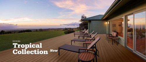 TimberTech Tropical Decking
