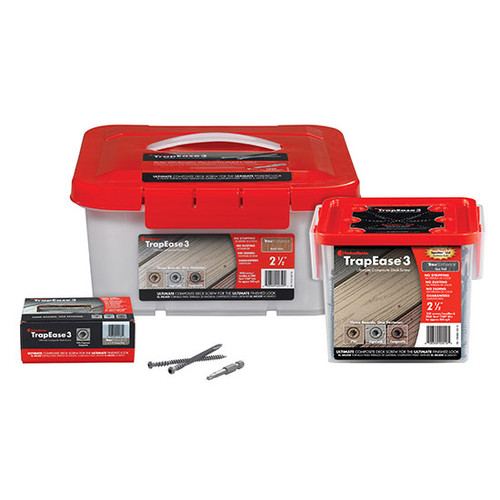 FastenMaster Trapease Deck Screws