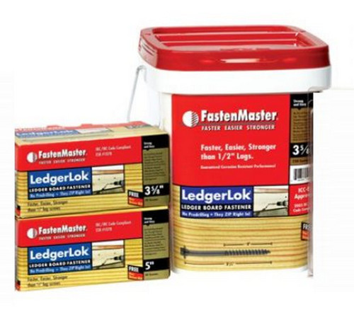 FastenMaster LedgerLOK Screws