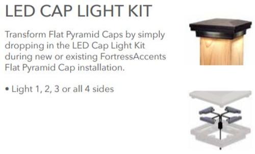 FortressAccents LED Cap Light Kit