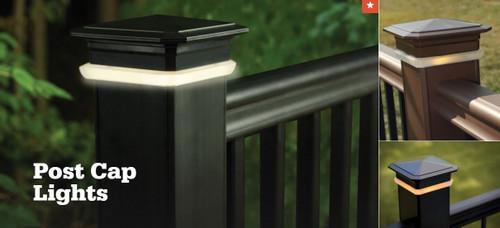 TimberTech Post Cap Light for 4x4 Post