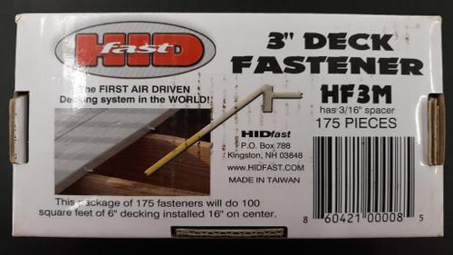 """HidFast Hidden Fasteners 3"""""""