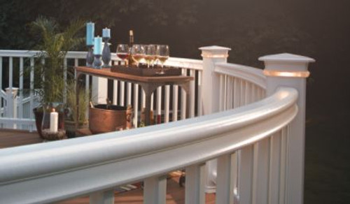 TimberTech RadianceRail Square Composite Balusters