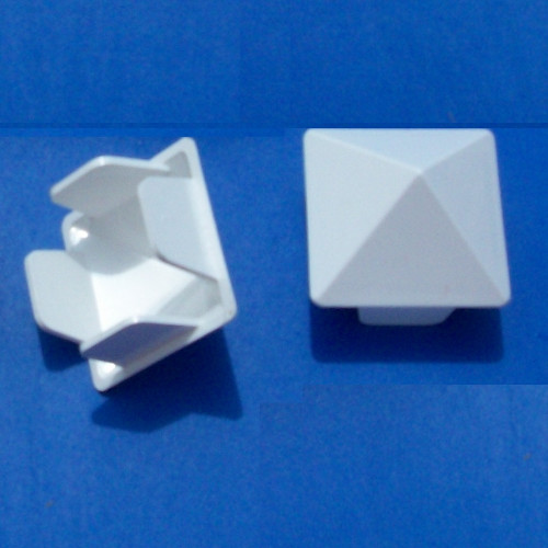 "MVP Sharp Picket Cap White (1.5"" x 1.5"")"