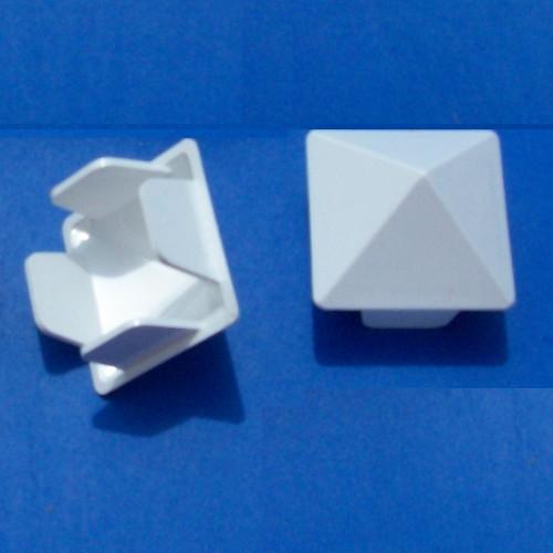 "MVP Sharp Picket Cap White (1.5"" x 1.5"")"