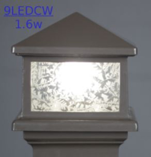 Sample Light Fixture using LED 1.6 Watt Cool White Replacement Bulb