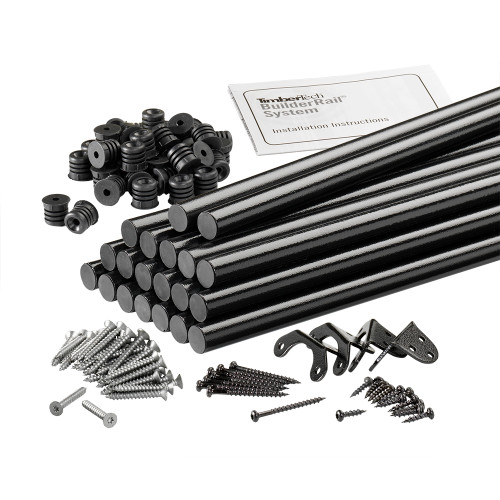"TimberTech 29"" Alum Baluster Black for Flat 36"" Radiance"