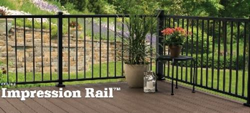 TimberTech Impression Rail Section