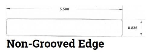 DecKorators Vault Decking Non-Grooved Edge Profile