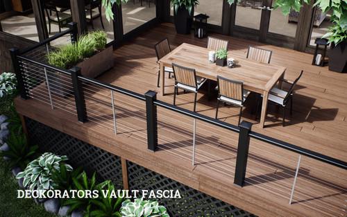 DecKorators Vault Fascia Collection - shown in Mesquite