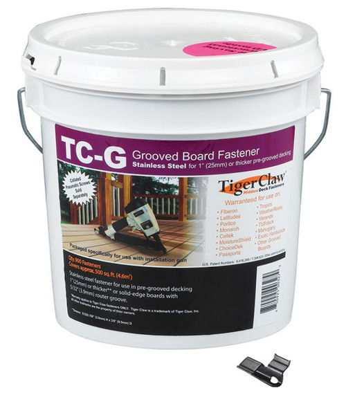 Tiger Claw TC-G Hidden Fasteners