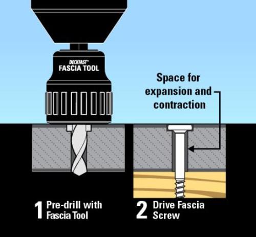 StarBorn DECKFAST Fascia Tool