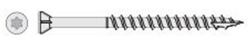 StarBorn HEADCOTE Grade 305 Stainless Deck Screws Trim Head #7 x 2-1/4