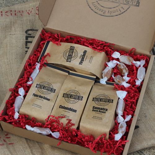 Global Traveler's Coffee Gift Box