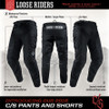 Loose riders C/S pants