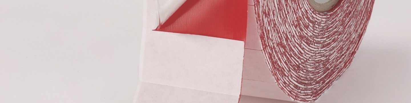 Close up, production of high bond tape