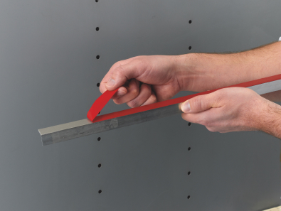 High bond tape being pulled