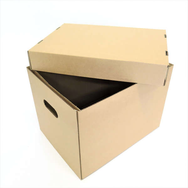 Open two piece archive  box
