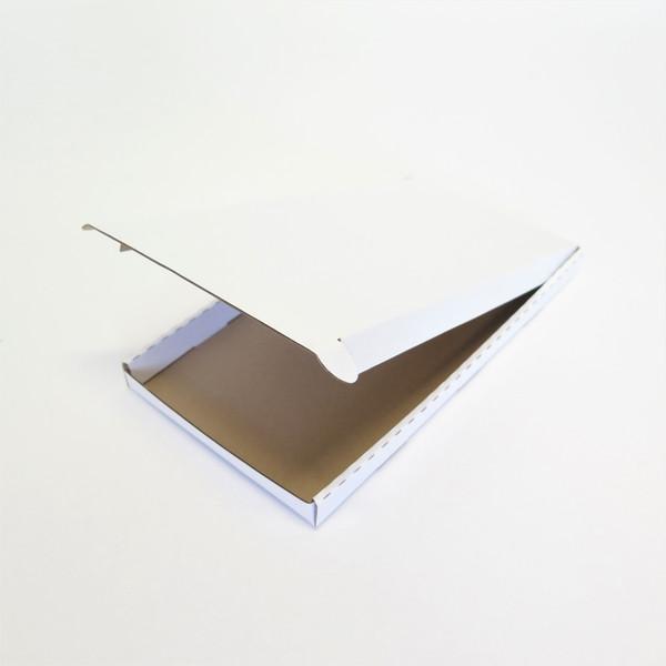 Empty white envelope box