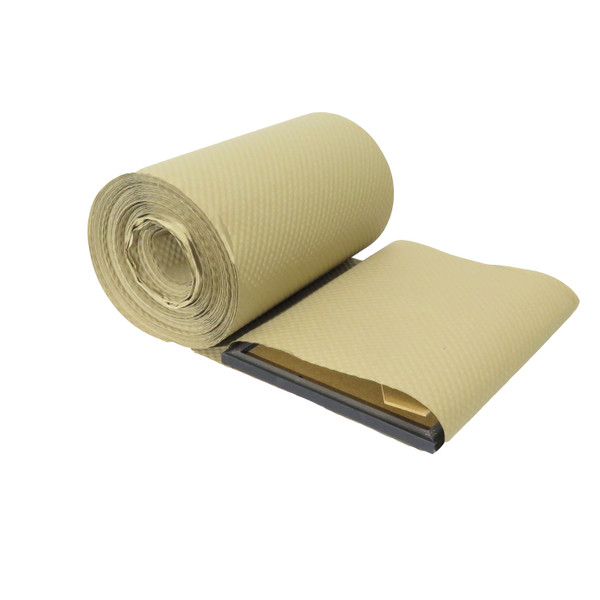 Embossed eco paper bubble roll