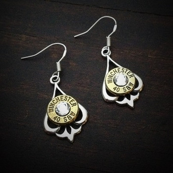 Pendulum Bullet Earrings